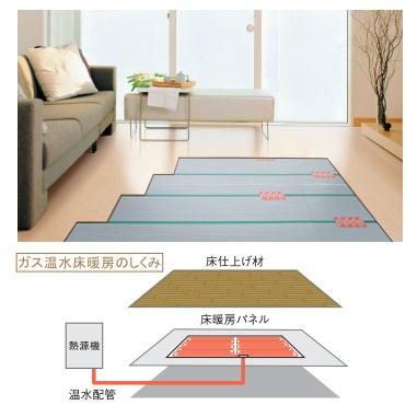 標準設備(床暖房)