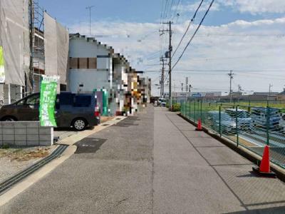【前面道路含む現地写真】神戸市垂水区星陵台3丁目 新築戸建 2区画