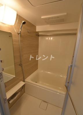 【浴室】グレイスリヴィエール東京八丁堀