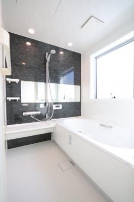 ゆったり過ごせるお風呂です 三郷新築ナビ
