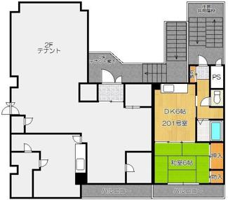 【間取り】小樽市花園4丁目一棟マンション