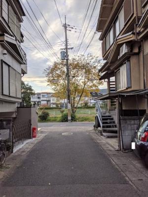 【前面道路含む現地写真】京都市山科区勧修寺縄手町