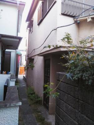 【外観】品川区豊町古屋付土地