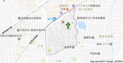 【地図】ハイツ88 (株)Roots