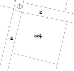 【土地図】浜松市西区村櫛町土地