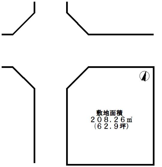【土地図】明石市太寺2丁目 売土地