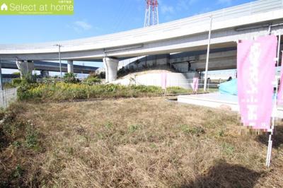 【外観】海老名市門沢橋2丁目 土地「更地」
