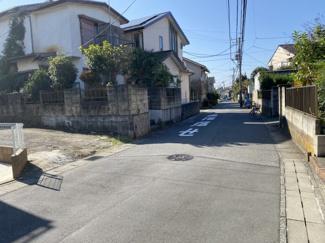 千葉市若葉区若松町 土地 都賀駅 前面道路も広いですので駐車も安心です!