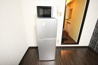 電子レンジ、2ドア冷蔵庫