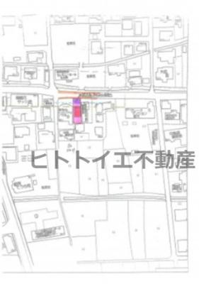 【外観】売地)八女市吉田