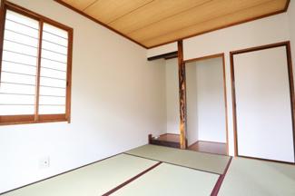 癒しのある素敵な和室となっております!