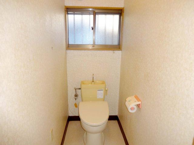 トイレもきれいです