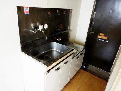 キッチン☆2口ガスキッチン設置可★同一仕様写真