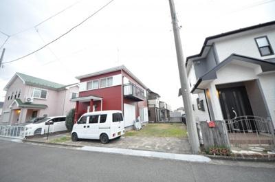【前面道路含む現地写真】三田区画整理地内特選戸建