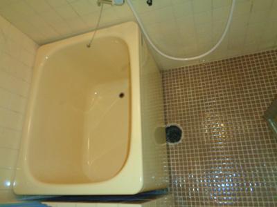 【浴室】ハイツ粟新