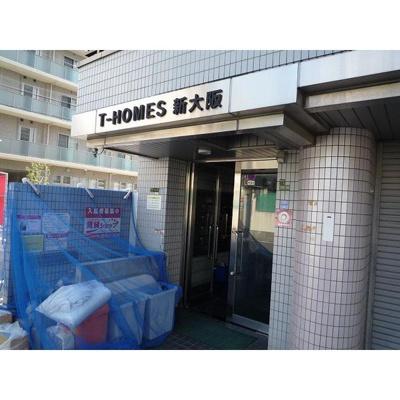 【エントランス】ティーホームズ新大阪
