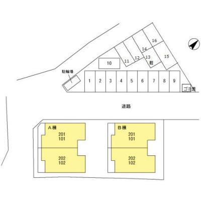 【区画図】フォアシュピールハイムB