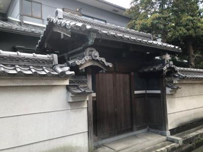 【外観】奈良県橿原市東坊城町326(古建物付)