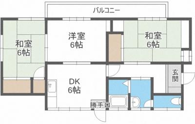 【外観】長丘4丁目貸家(ナガオチョウメカシヤ)