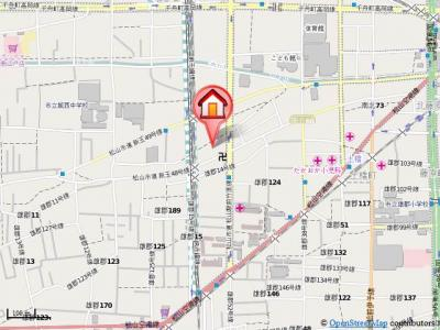 【地図】カーサ野田・
