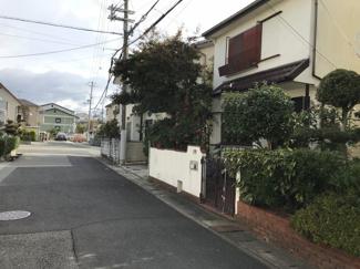 【前面道路含む現地写真】神戸市西区南別府4丁目 中古戸建て