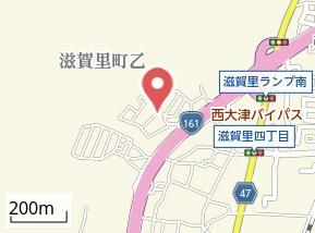 【地図】アルカディア大津