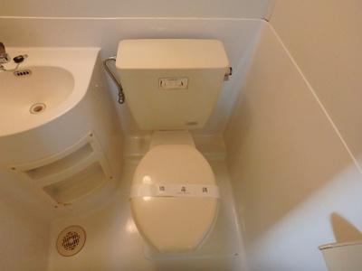 【トイレ】ひかりコーポ