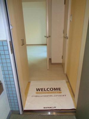 【玄関】ビガーポリス118東田辺