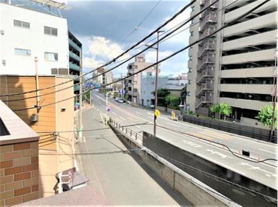 6階建3階部分からの眺望です。