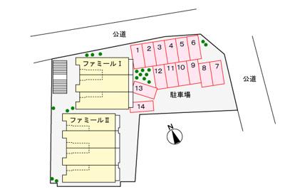 【駐車場】ファミ-ルS Ⅱ