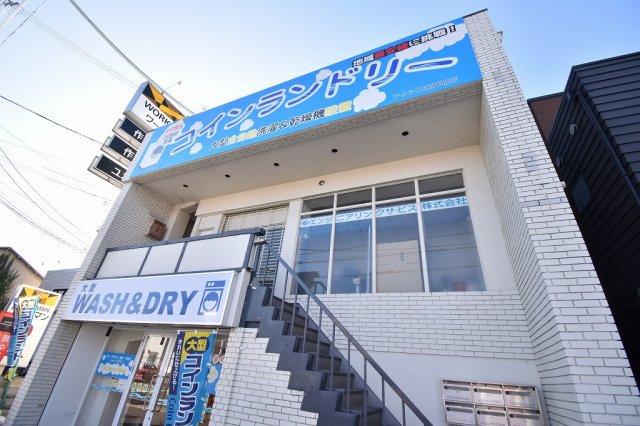 尼崎市カキウチビルの外観。