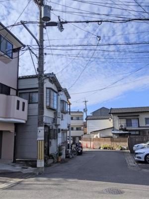 【前面道路含む現地写真】京都市山科区大塚北溝町