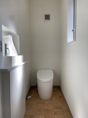 【トイレ】百合ヶ丘3丁目 デザイナーズハイスペック新築住宅
