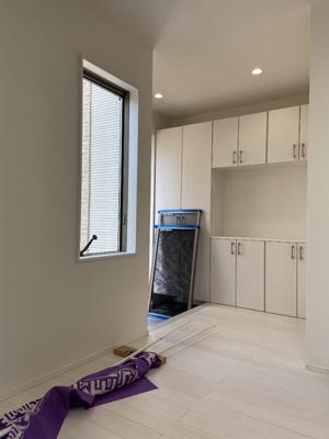 【玄関】百合ヶ丘3丁目 デザイナーズハイスペック新築住宅