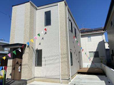 【外観】百合ヶ丘3丁目 デザイナーズハイスペック新築住宅