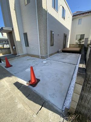 【駐車場】百合ヶ丘3丁目 デザイナーズハイスペック新築住宅