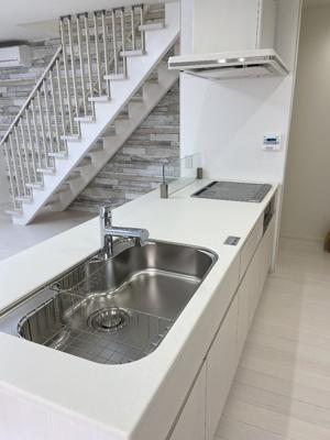 【キッチン】百合ヶ丘3丁目 デザイナーズハイスペック新築住宅