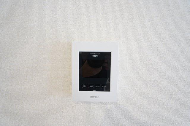 LDKにあるTVモニター付きインターフォンは来客者の顔が見えて安心ですね