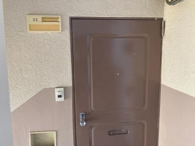 【玄関】相武台団地1517号棟