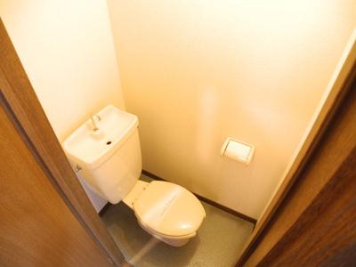 【トイレ】クィーンパレス橋口町