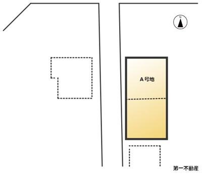 【区画図】西脇市高田井町 売土地