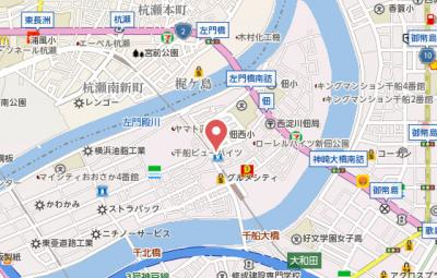 【地図】M.J tsukuda壱番館
