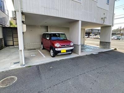 【駐車場】羽山ハイツ