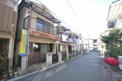 【前面道路含む現地写真】堺市東区南野田 戸建