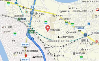 【地図】ゾーナ・エスト