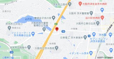 【地図】第二田中マンション