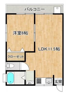 【キッチン】ミナミドウハイツ
