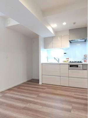 新規リノベーション済できれいなお部屋や水回りです。