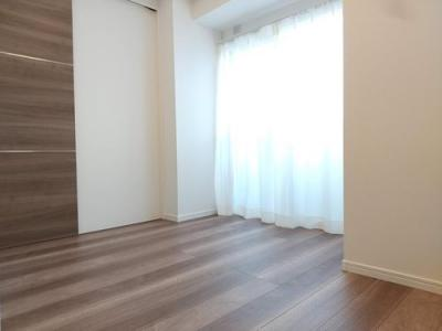 床面はお掃除しやすいフローリングになっています。