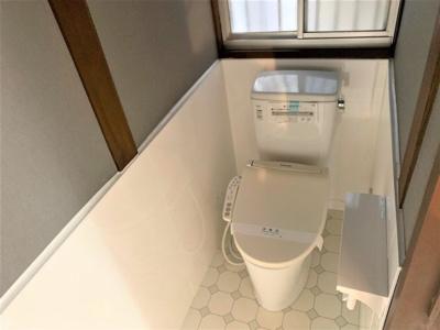 【トイレ】餌差町戸建て貸家